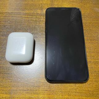 Apple - iPhone11pro 64GB + AirPods 第一世代