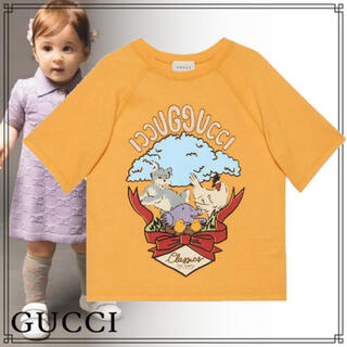 グッチ(Gucci)の新品GUCCI チルドレン アニマル刺繍Tシャツ(Tシャツ/カットソー)