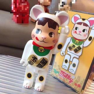 メディコムトイ(MEDICOM TOY)のBE@RBRICK 招き猫 ペコちゃん 400% ベアブリック(キャラクターグッズ)