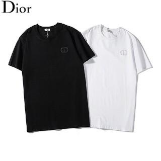 ☆2枚8000円☆Tシャツ新品☆Dior002☆ディオール☆男女兼用プレゼント