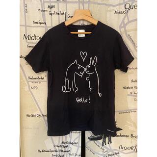 "Paul Smith - ポールスミス ""Drawn by Paul "" Tシャツ ネイビー Mサイズ"