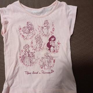 UNIQLO - UNIQLO ディズニープリンセス Tシャツ 110