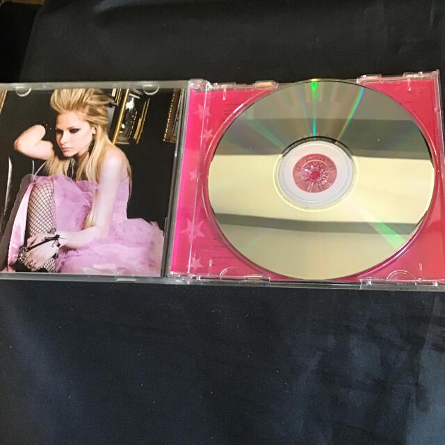 アヴリル・ラヴィーン 「the best damn thing」洋楽CD エンタメ/ホビーのCD(ポップス/ロック(洋楽))の商品写真