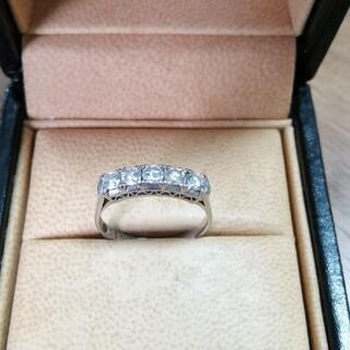 pt900 0.5ct ダイヤモンド リング 指輪