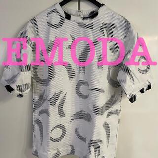 EMODA - 新品未使用タグ付き EMODA カットソー