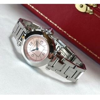 Cartier - ☆美品☆ カルティエ ミスパシャ ピンク レディース クオーツ / 腕時計