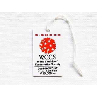 G-SHOCK - 【送料無料】タグ WCCS オフィシャル DW-6900 カシオ G-SHOCK