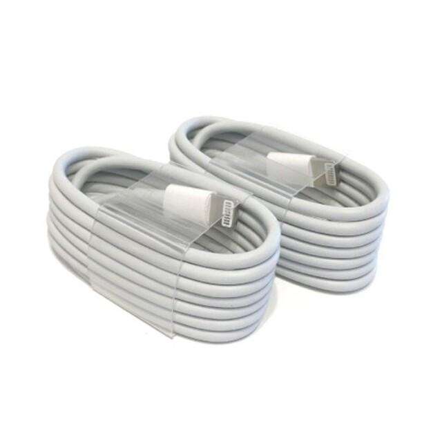 Apple(アップル)のライトニングケーブル iPhone Apple 純正品質 充電器 充電ケーブル スマホ/家電/カメラのスマートフォン/携帯電話(バッテリー/充電器)の商品写真
