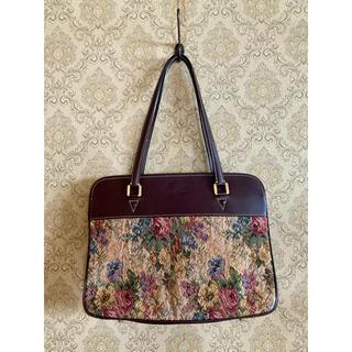 グリモワール(Grimoire)のgrimoire vintage  flower bag グリモワール(ハンドバッグ)