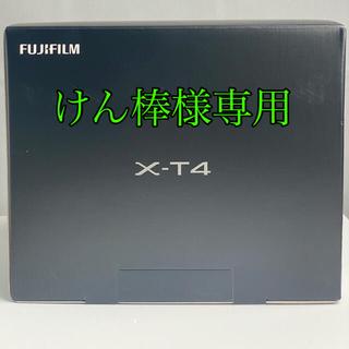 富士フイルム - 美品 富士フィルムx-t4 デュアルバッテリーチャージャー付き