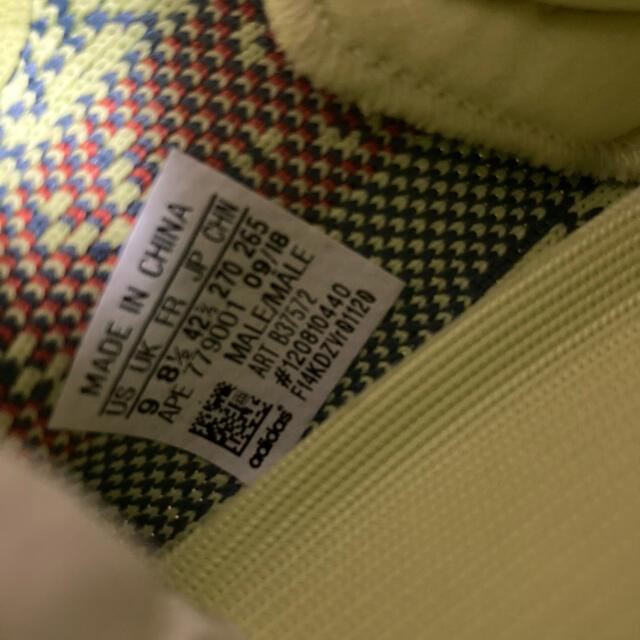 adidas(アディダス)の新品!YEEZY イージー YELLOW セミフローズン イエロー メンズの靴/シューズ(スニーカー)の商品写真