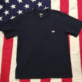 ダントン(DANTON)のダントン で ポケTシャツ ネイビー(Tシャツ/カットソー(半袖/袖なし))