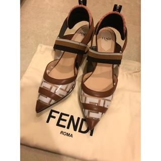 FENDI - 新品未使用 FENDI フェンディ コリブリ パンプス 35.5 22.5
