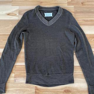 マルタンマルジェラ(Maison Martin Margiela)のMaison Margiela マルジェラ Vネックセーター Ssize(ニット/セーター)