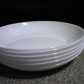 ヤマザキセイパン(山崎製パン)の山崎春のパンまつり arc白いお皿セット 丸型6枚 直径約21㎝ 【未使用】(食器)