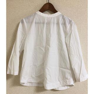 MUJI (無印良品) - 無印良品 MUJI  7分袖 シャツ ブラウス