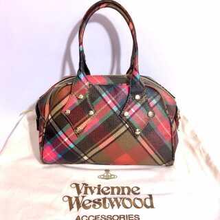 Vivienne Westwood - 美品 ヴィヴィアンウエストウッド チェック ハンドバッグ ヤスミン