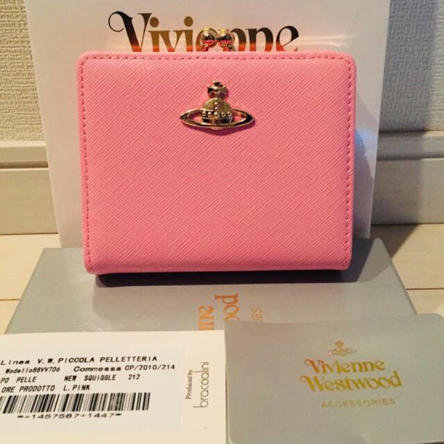ヴィヴィアンウエストウッド 財布 2つ折り メンズのファッション小物(折り財布)の商品写真