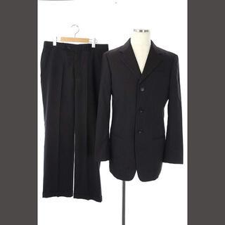アルマーニ コレツィオーニ(ARMANI COLLEZIONI)のアルマーニ コレツィオーニ スーツ セットアップ ジャケット パンツ 48 黒(スーツジャケット)