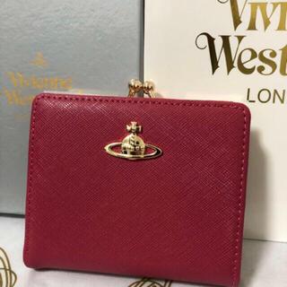 新品ヴィヴィアン 財布 がま口 二つ折り Vivienne westwood (折り財布)
