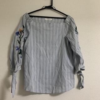 ココディール(COCO DEAL)のココディール *刺繍ブラウス(シャツ/ブラウス(長袖/七分))