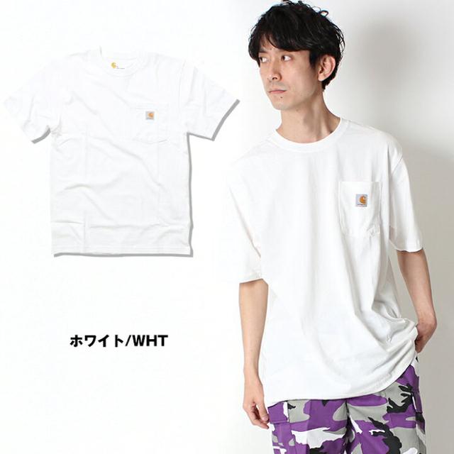 carhartt(カーハート)のCARHARTT ポケt 半袖 ホワイト 新品タグ付き USA企画 メンズのトップス(Tシャツ/カットソー(半袖/袖なし))の商品写真