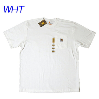 carhartt - CARHARTT ポケt 半袖 ホワイト 新品タグ付き USA企画
