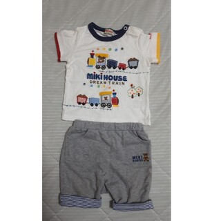 mikihouse - 美品 ミキハウス 上下セット Tシャツ パンツ