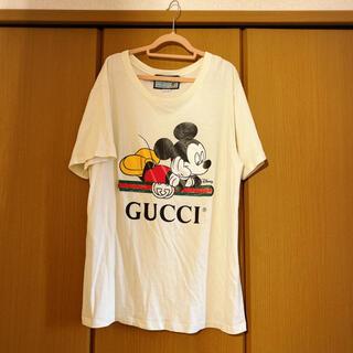 グッチ(Gucci)のDISNEY (ディズニー) x GUCCI オーバーサイズ Tシャツ(Tシャツ(半袖/袖なし))