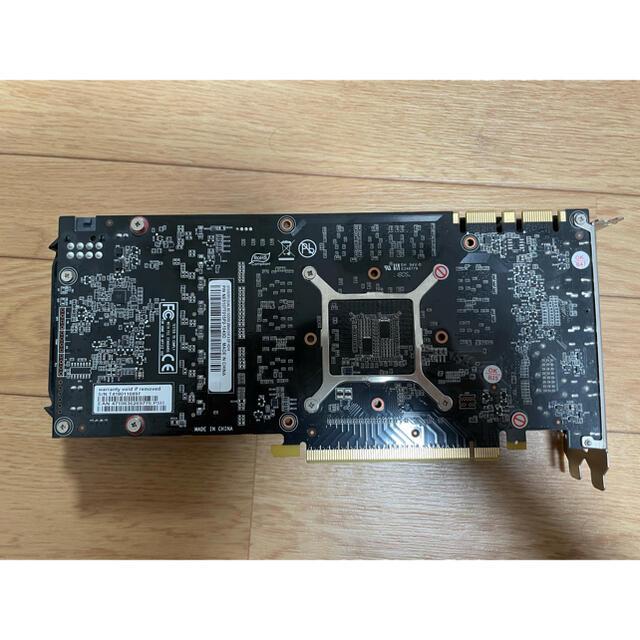 グラフィックボード Palit GeForce GTX 1070ti 8GB スマホ/家電/カメラのPC/タブレット(PCパーツ)の商品写真