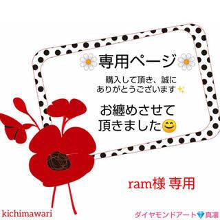 ram様 s7455 A4サイズ 四角ビーズ ダイヤモンドアート(アート/写真)