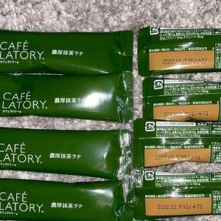 AGF - カフェラトリー 濃厚抹茶ラテ8本