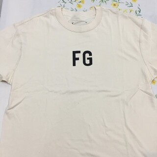 フィアオブゴッド(FEAR OF GOD)のfear of god 6th fg logo Tシャツ L(Tシャツ/カットソー(半袖/袖なし))