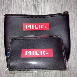 ミルクフェド(MILKFED.)のミルクフェド コインケース ポーチ(コインケース)