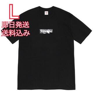 Supreme - L supreme Emilio Pucci Box Logo Tee 黒