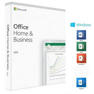 Microsoft - Office 2019 Home and Business 認証サポート付き!