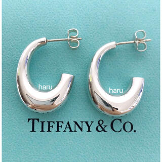 Tiffany & Co. - 希少美品TIFFANY&Co. ティファニーフープピアス