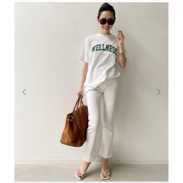 L'Appartement DEUXIEME CLASSE(アパルトモンドゥーズィエムクラス)のアパルトモン SPORTY&RICH wellness LOGO TEE  レディースのトップス(Tシャツ(半袖/袖なし))の商品写真
