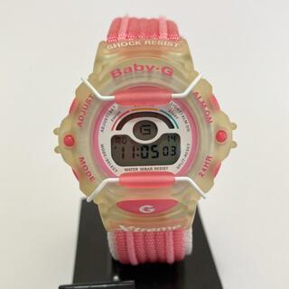 ベビージー(Baby-G)のBaby-G BG-340 美品 電池交換済(腕時計)