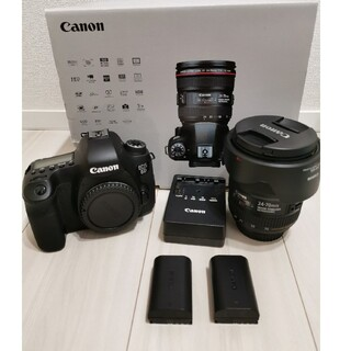 Canon - Canon EOS 6D EF24-70L IS USM