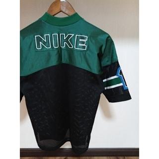 NIKE - 唯一出品 超美品 NIKE ナイキ 銀タグ 刺繍ロゴ ゲームシャツ メッシュ