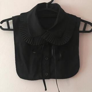 ウィゴー(WEGO)のつけ襟 襟 レディース  レース リボン ウィゴー フリル かわいい ブラック(つけ襟)