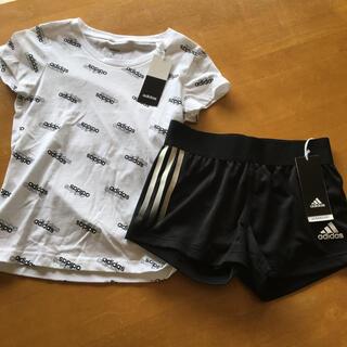 adidas - 新品☺︎ adidas 上下セット 140㎝