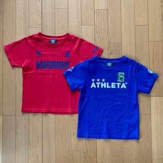 LAUNDRY - LAUNDRY×ATHLETA  Tシャツ(120cm)2枚セット