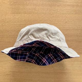 ムジルシリョウヒン(MUJI (無印良品))の無印良品 キッズ リバーシブル帽子(52cm)(帽子)