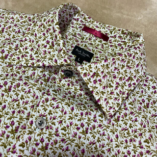Paul Smith - ポールスミス ロンドン Lサイズ PaulSmith  小花柄 半袖シャツ