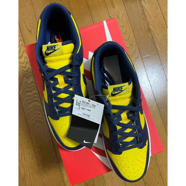 NIKE(ナイキ)のNIKE DUNK LOW Varsity Maize 28cm メンズの靴/シューズ(スニーカー)の商品写真