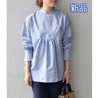 シップスフォーウィメン(SHIPS for women)の新品  フロントヨーク バックギャザーシャツ  SHIPS any(シャツ/ブラウス(長袖/七分))