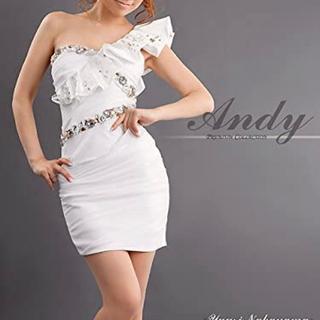 アンディ(Andy)のAndy オフショルダー ミニドレス キャバドレス M(ミニドレス)