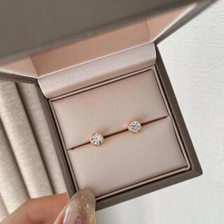 Tiffany & Co. - 【即納】高品質 sonaダイヤモンド 5㎜ サークルピアス
